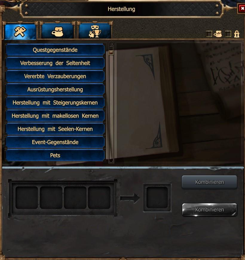 FAQ - Crafting | Drakensang Online DE